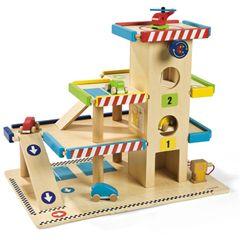 Janod Wooden Toy Garage
