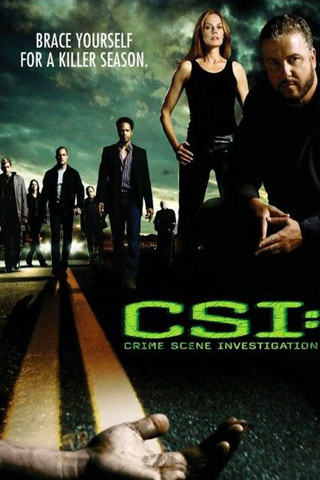 CSI! Has to have Grisom in them for me to watch!!!