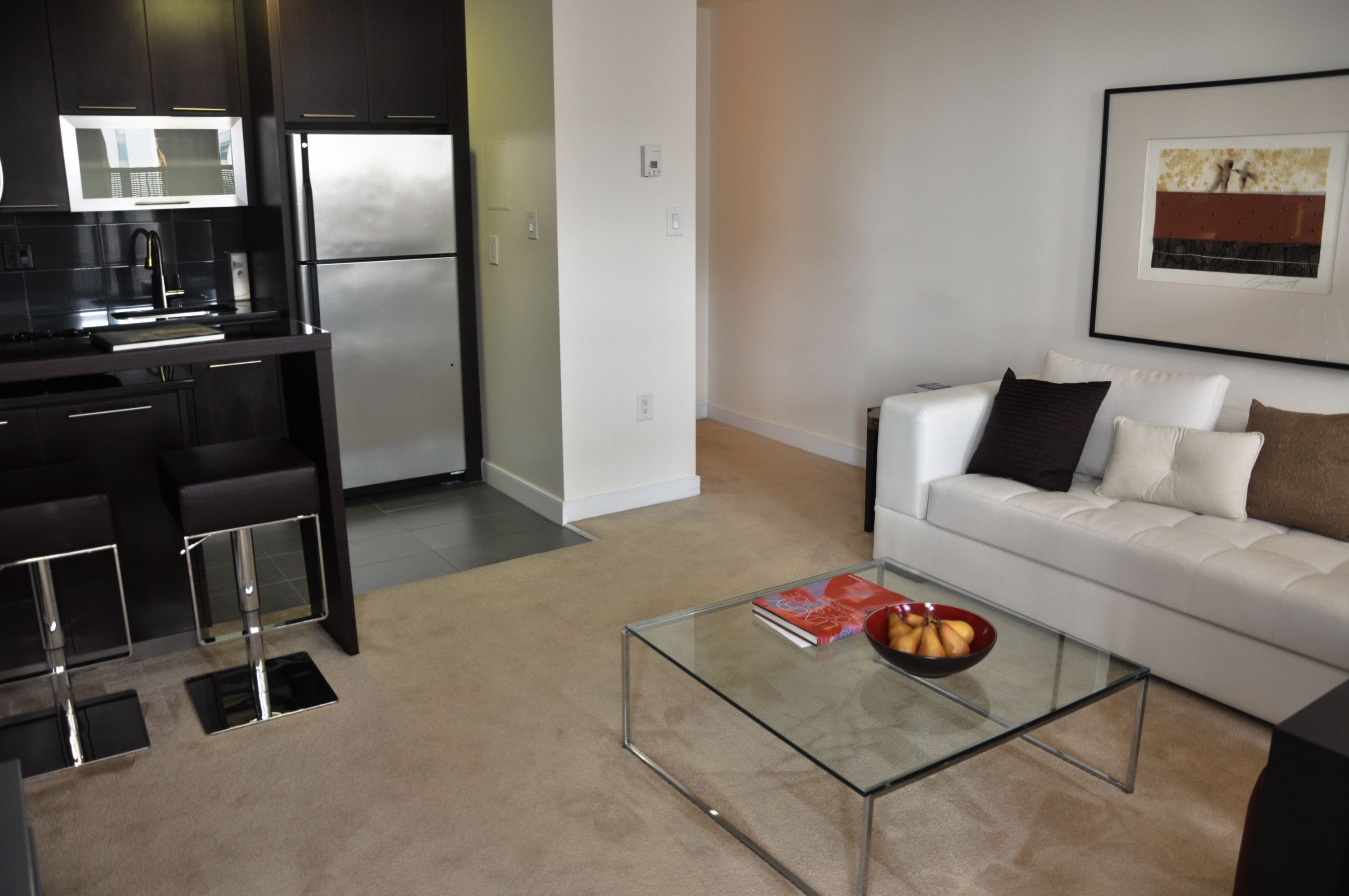 Interior Of The Manchester 1 Bath Studio Apartment At The Point At Silver Spring Http Ow Ly Zrk3g Homedecor C Apartment Living Home Decor Interior Design