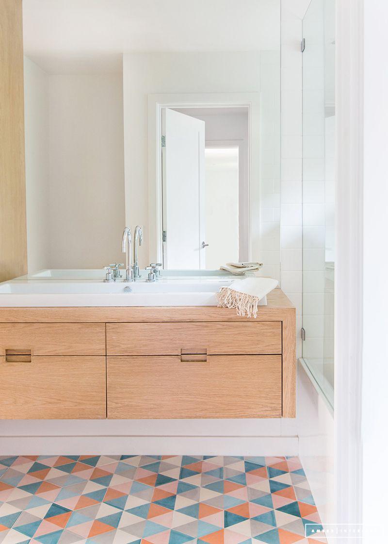 A Minimalist Mid Century Home Tour Best Bathroom Designs Amber