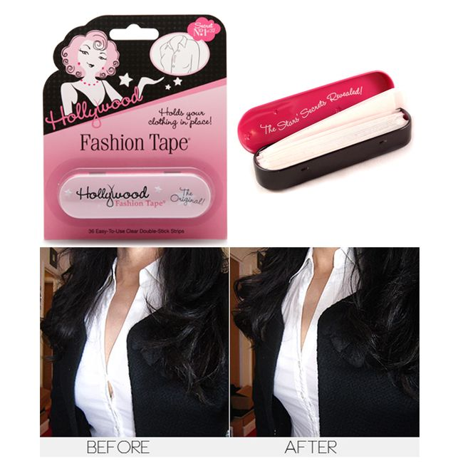 FASHION FIX OF THE WEEK  Hollywood Fashion Tape   a multi functional     Hollywood Fashion Tape   a multi functional must have