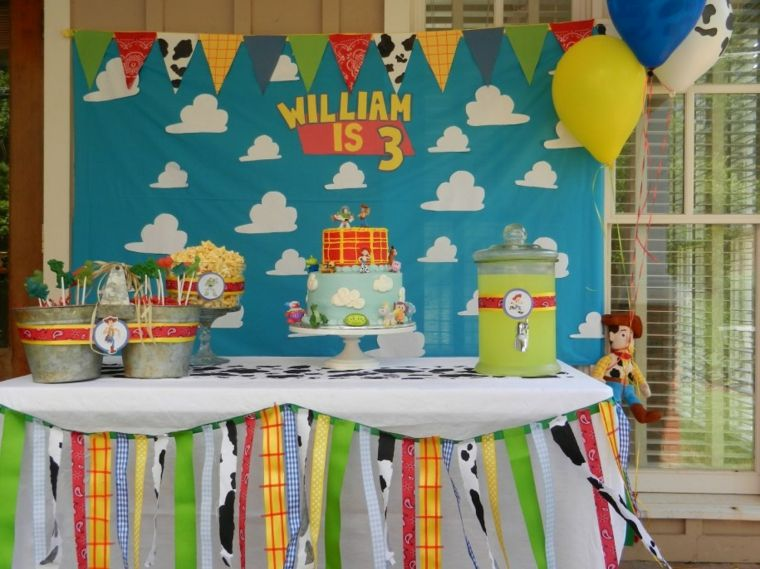 original decoracin cumple infantil toy storyfiesta