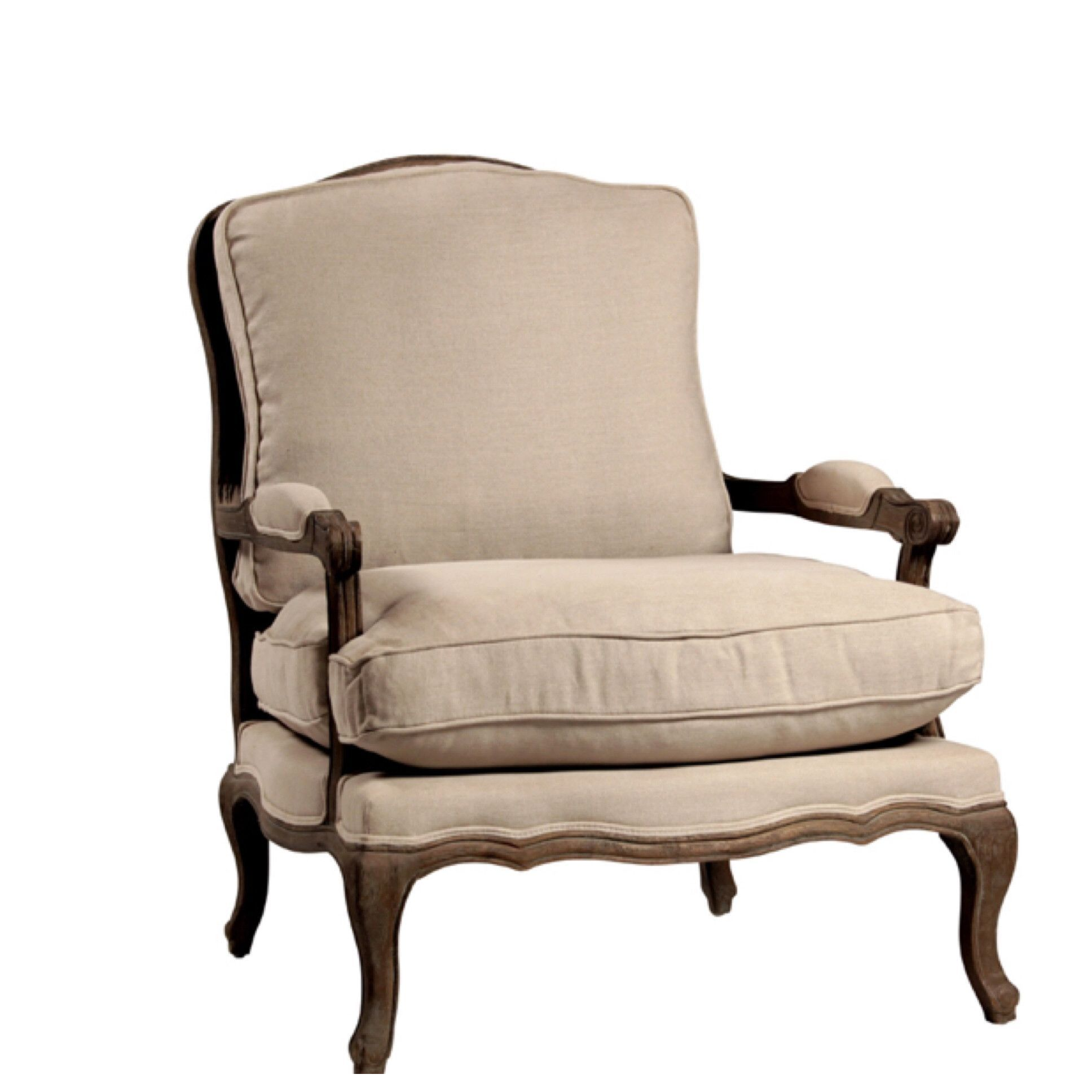 Dominique Bergere Chair And Ottoman Set