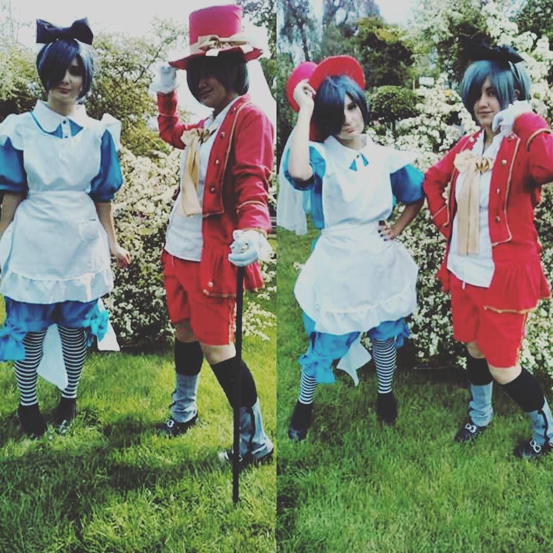 Ignoren mi cara de amargura no se como reaccionar ante una camara creo.(?) #Instachile #instacosplay #instakuroshitsuji #instablackbutler #CielPhantomhive #Ciel #phantomhive #shieru #kuroshitsuji #blackbutler #cosplay #firstcosplay #imhappy #cielinwonderland #genderfluid #anime #cosplaychile #animecosplay #kawaii