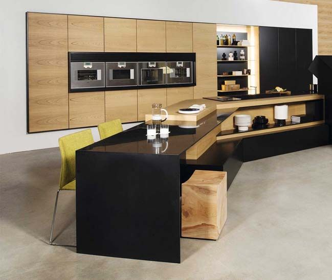 Modern kitchen design integrated high-tech | Modern kitchen designs ...