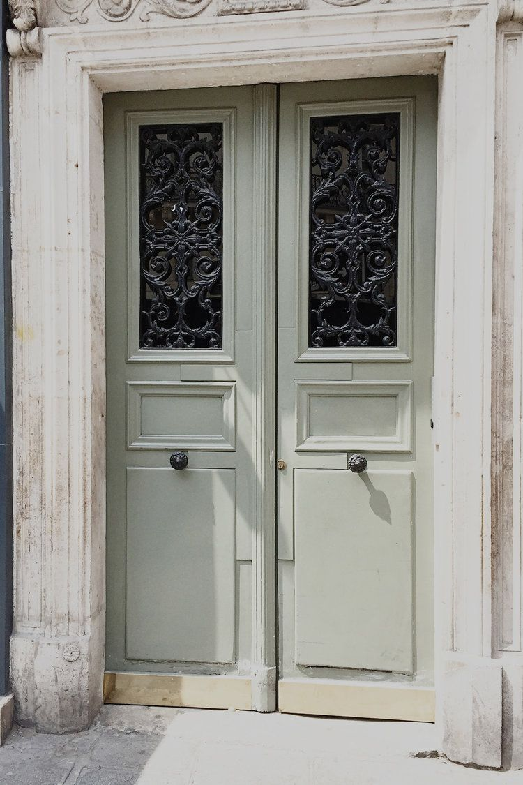 As a quaternary color, it is an equal mix of the tertiary colors citron and slate. Sage Green Door | Pretty Doorway | Dreamy | Paris Trip ...