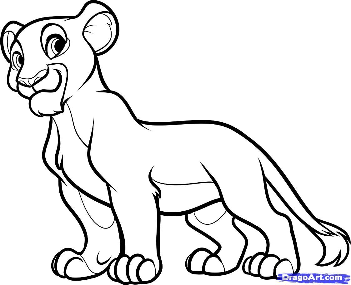 Uncategorized Drawing Lion King how to draw nala from the lion king step 9 dragoart pinterest 9