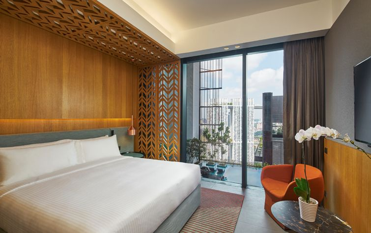 Oasia Hotel Downtown Singapore Far East Hospitality Hotel Inspiration Rooms For Rent Hotel Interiors