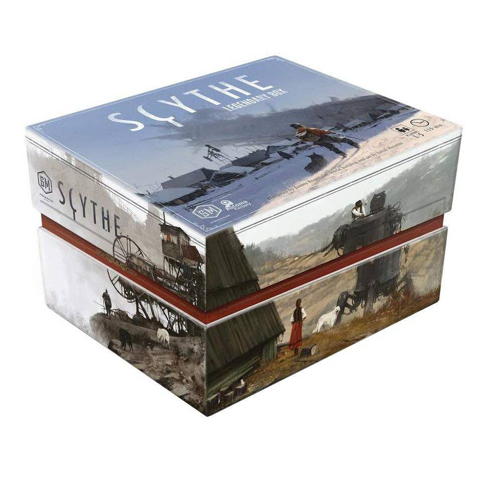 Scythe Legendary Box Board games, The expanse, Games
