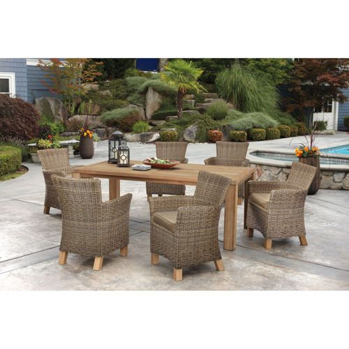 Beautiful Costco $1,299.99 Vienna 7 Piece Teak Dining Set