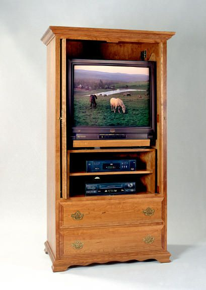 *TV Armoire (from Chestworks.com)