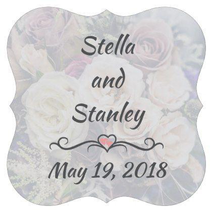 Wedding Bouquet Coasters 396