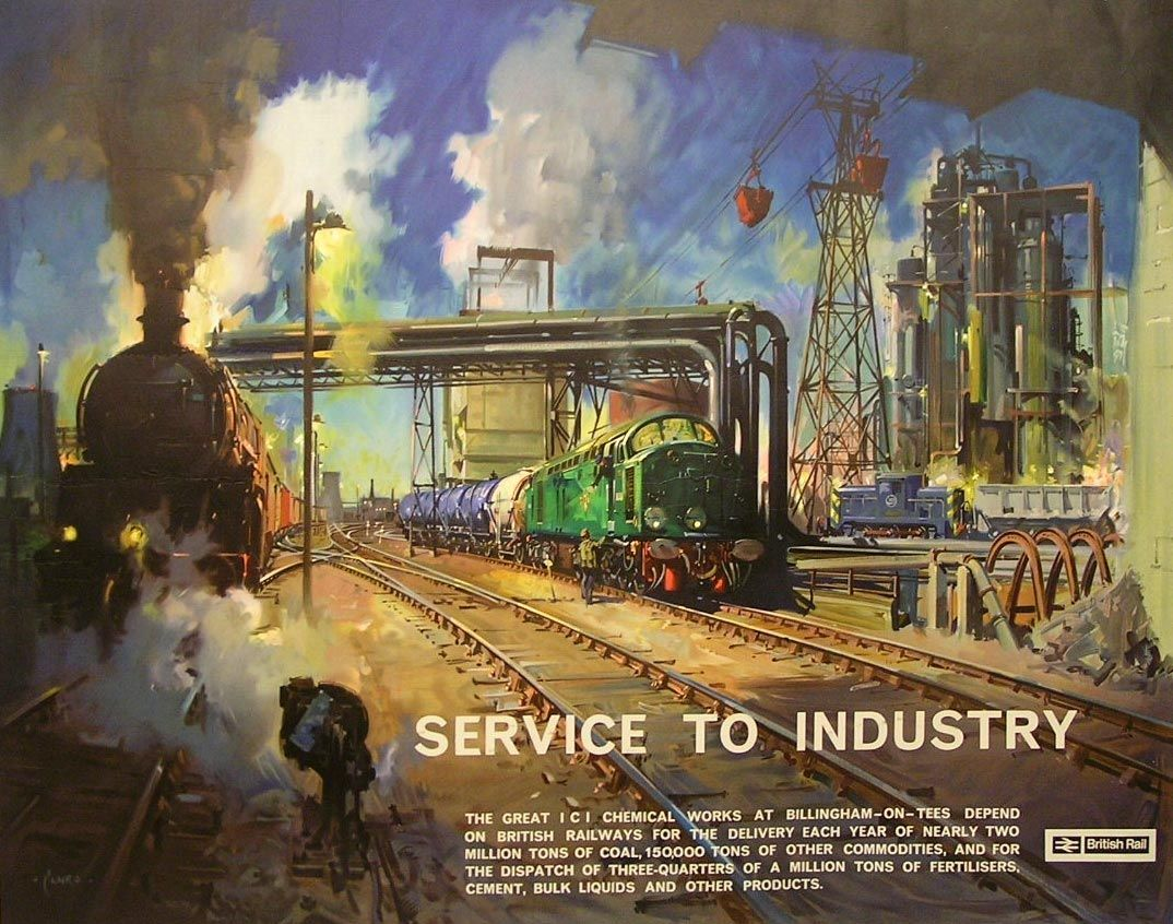 Railway Art Terence Cuneo Train Paintings #2 In 2019 Posters Poster