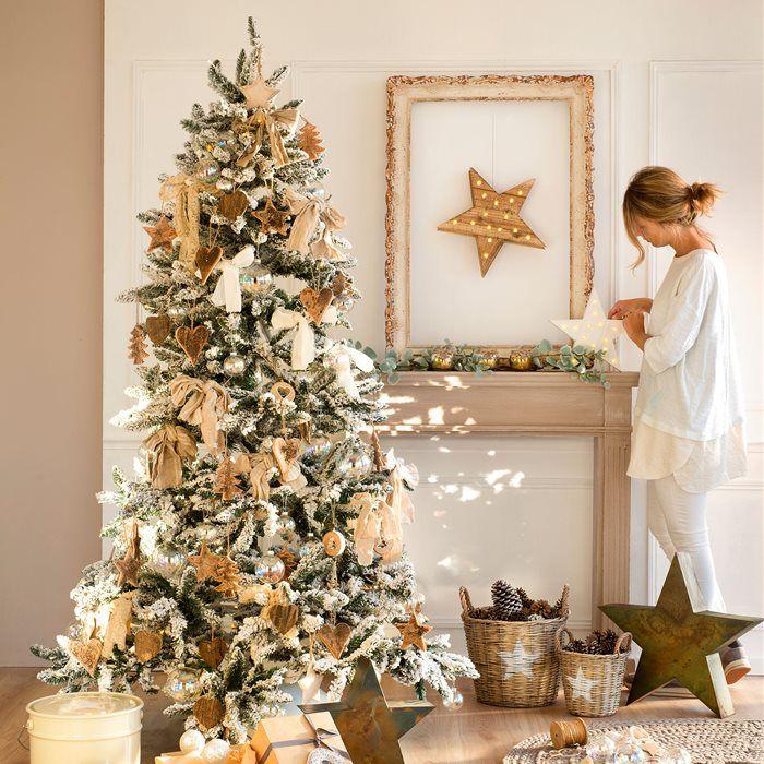 3 rboles de navidad 3 estilos navidad pinterest for Decoracion navidena artesanal
