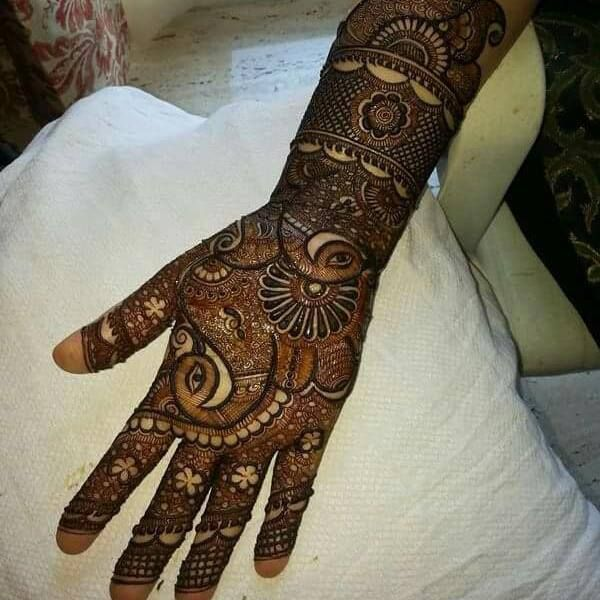 Bridal Mehndi Rajasthani : Latest rajasthani henna designs for eid fashion