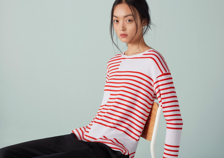 Stripe placement