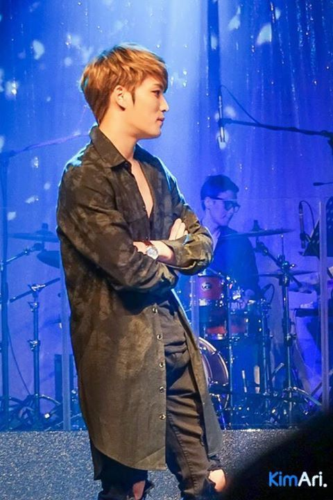 JaeJoong at Gummy's fanmeeting