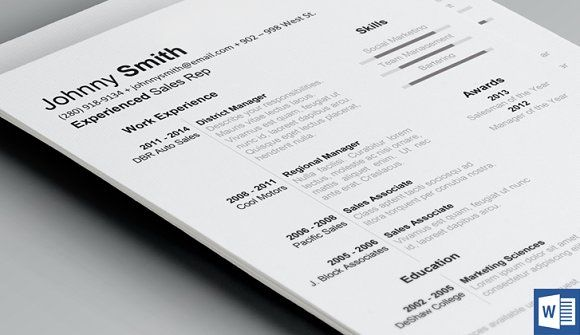History Resume Template Resume cv, Letterhead and Business cards - Simple Format For Resume