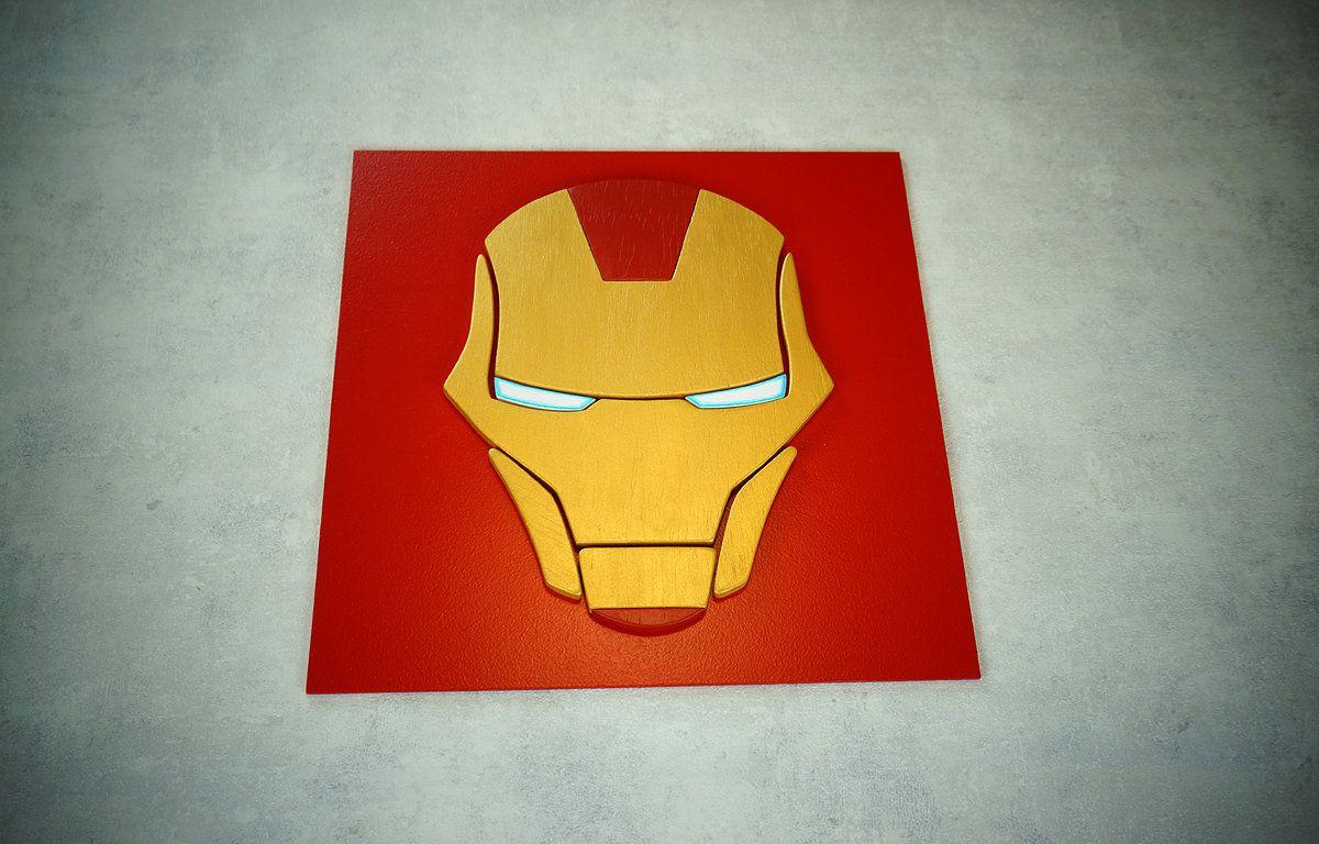 Superhero Ironman Wall Art Kids Bedroom Wall Art Playroom Etsy Superhero Wall Art Kids Bedroom Wall Art Etsy Wall Art