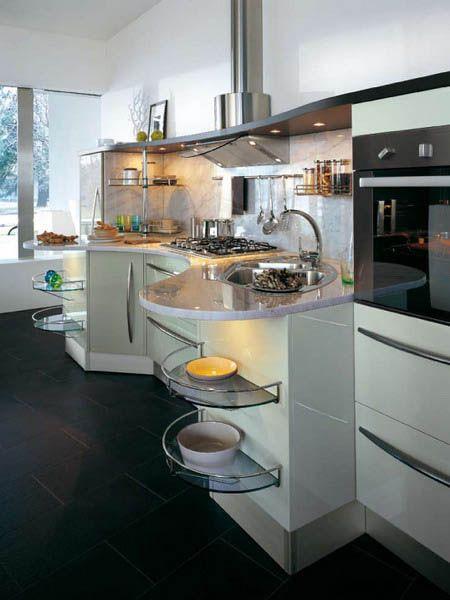 Contemporary Kitchens 5 Models Skyline From Snaidero Captivating Kitchen Models Design Decoration