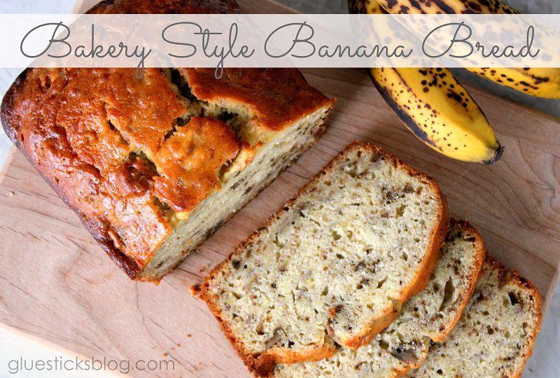Bakery Style Banana Bread | Gluesticks