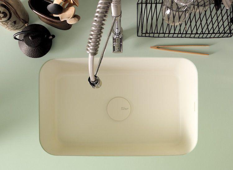 Arbeitsplatte Corian arbeitsplatte corian küche dupont pastellfarbe küchenspüle armatur
