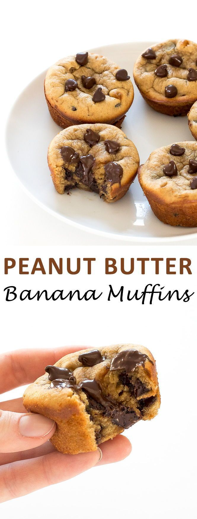 Photo of Flourless Peanut Butter Banana Muffins – Chef Savvy