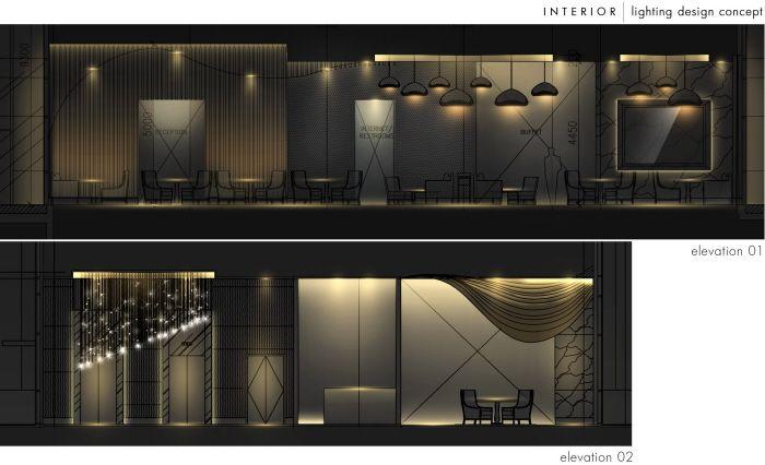 Interior lighting design by steven kurniawan at coroflot for
