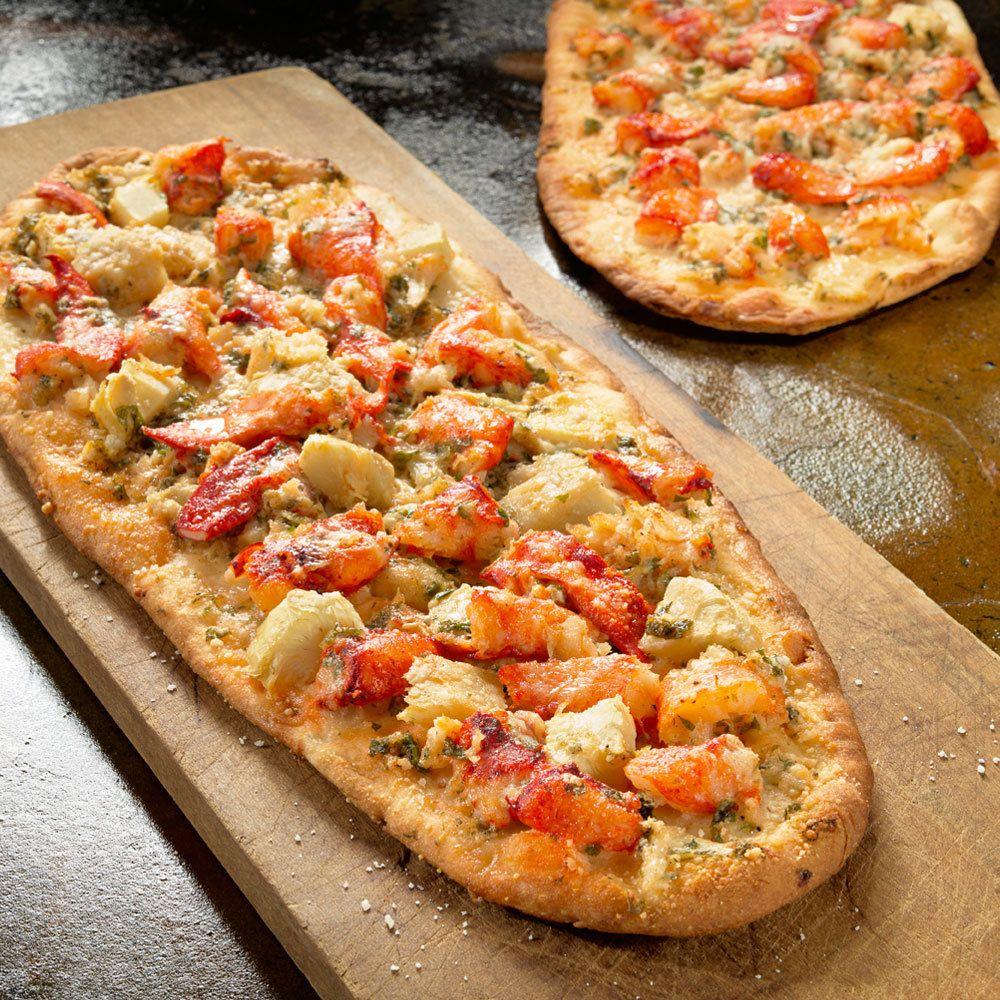 Lobster flatbread cooking ingredients gourmet recipes food