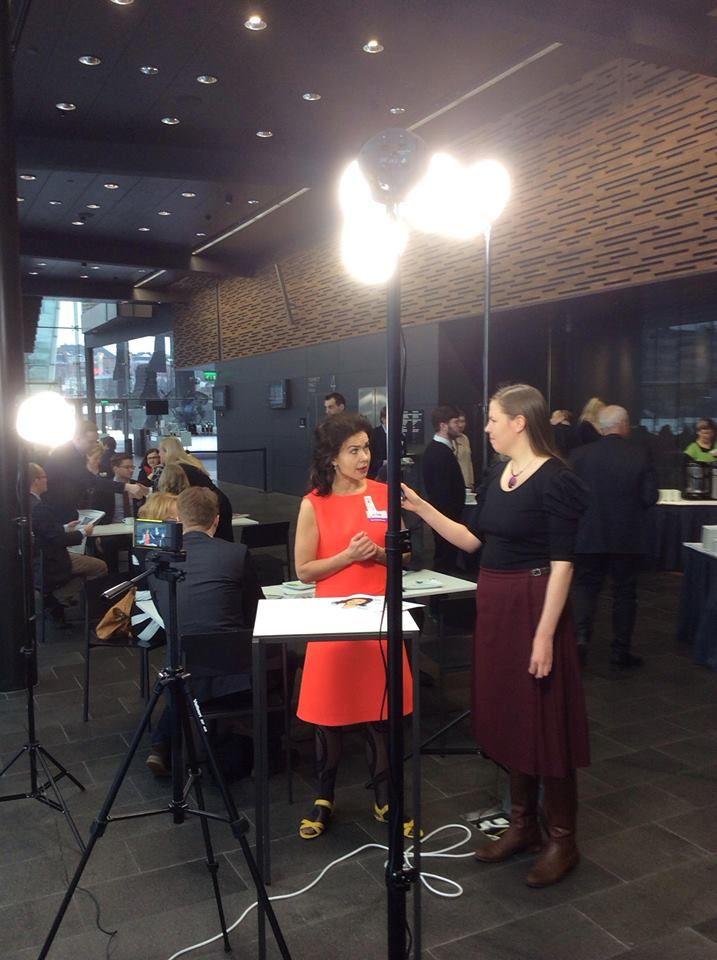Eurovaaliehdokas Lisa Sounio-Ahtisaari