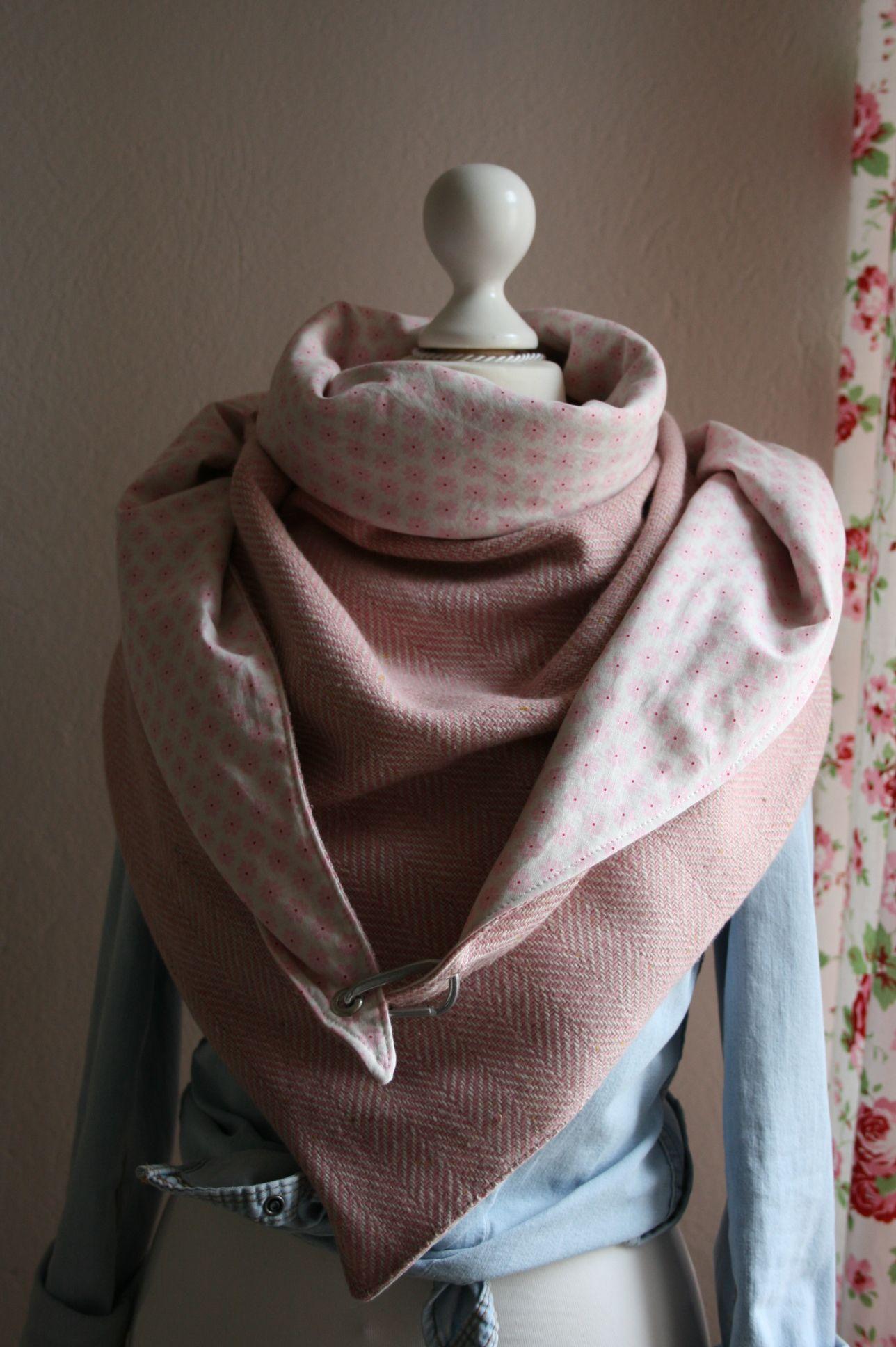 Dreieckstuch - riesig und kuschelig warm. | Sewing - only clothes ...