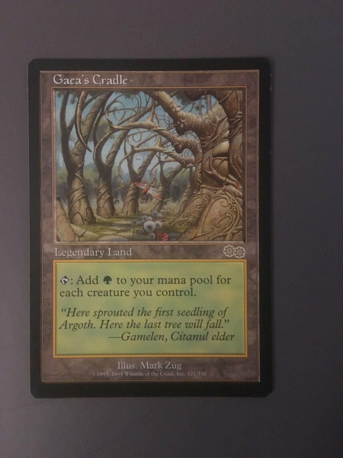 Gaea S Cradel Legendary Land Urza S Saga Magic The