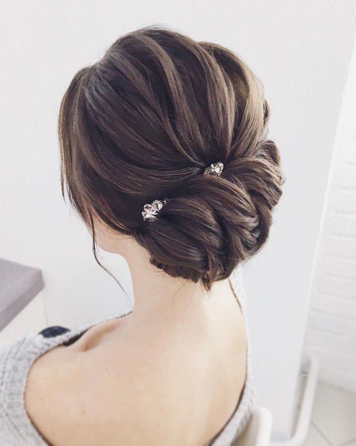 Gorgous updo wedding hairstyle to inspire you