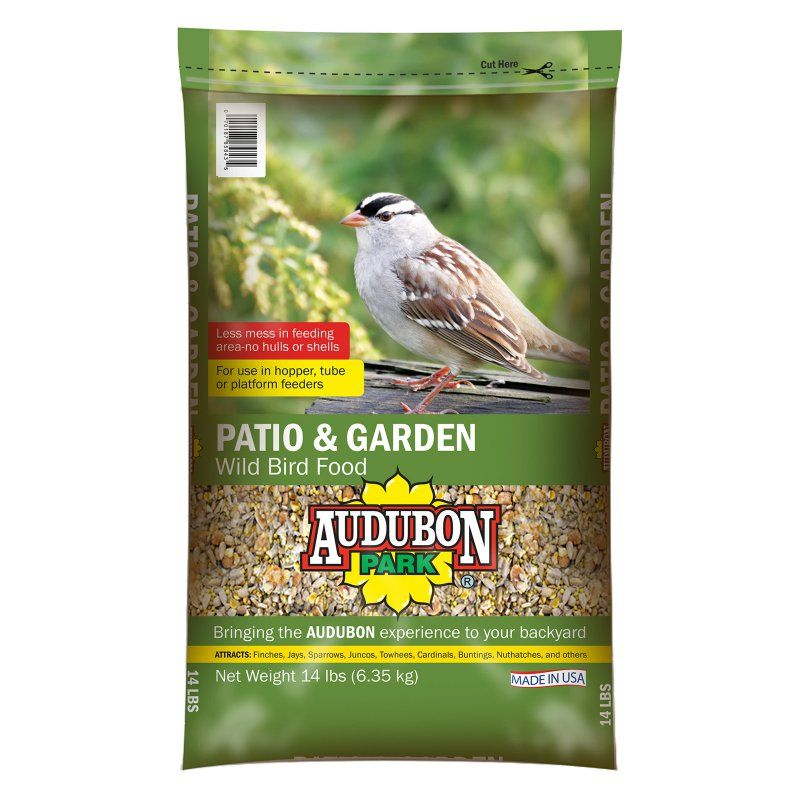 40 Lbs Audubon Park 11801 Black Oil Sunflower Seed Wild Bird Food