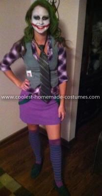 Coolest Female Joker Costume  sc 1 st  Pinterest & Coolest Female Joker Costume | Joker costume Joker and Costumes