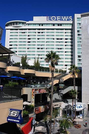 Loews Hollywood 4 Star Luxury Hotel At And Highland