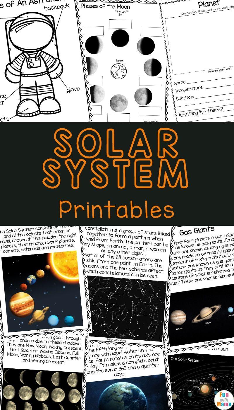 Solar System Worksheets Great Printables For Kids Solar System Worksheets Space Activities For Kids Solar System Activities [ 1400 x 800 Pixel ]