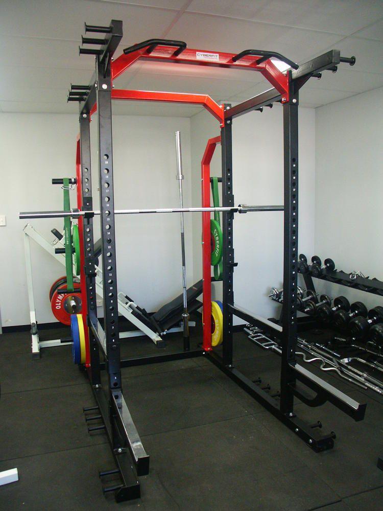 Home gym australian cyberfit hd3 power rack at home