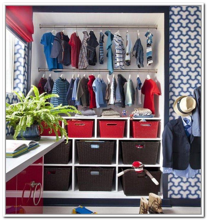 Kids Clothing Storage Ideas