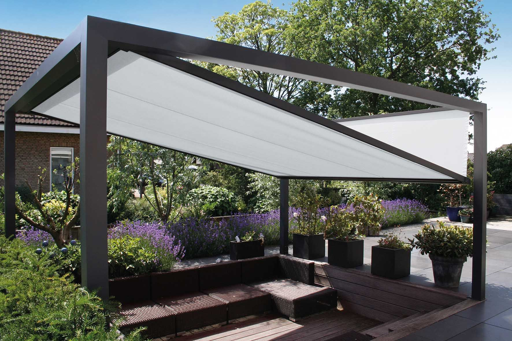 Sonnenschutzanlage Fur Terrassen Terassenideen Pergola Design Hinterhof