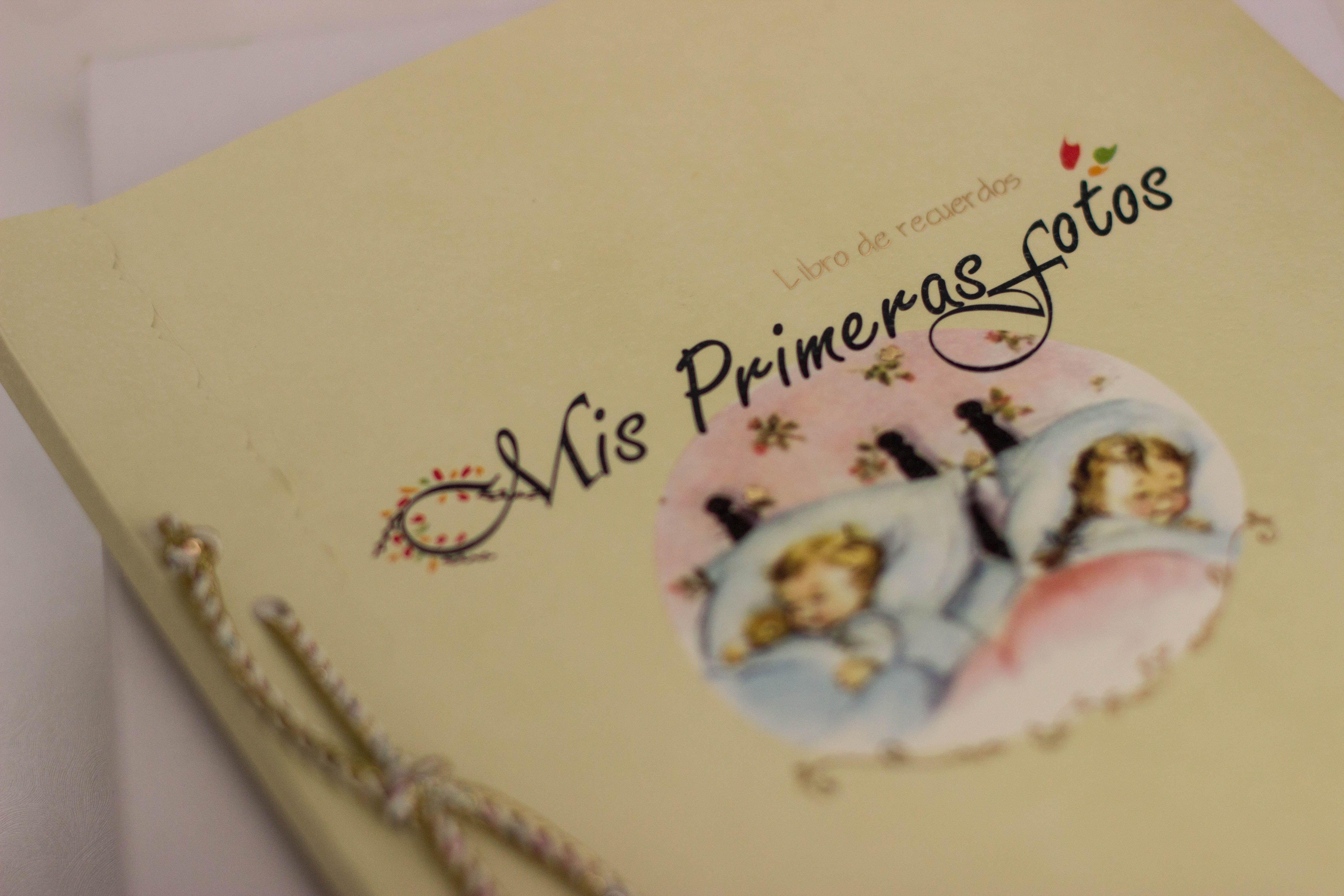 Libro de recuerdos, para conservar los momentos más importantes de la vida de tu bebé