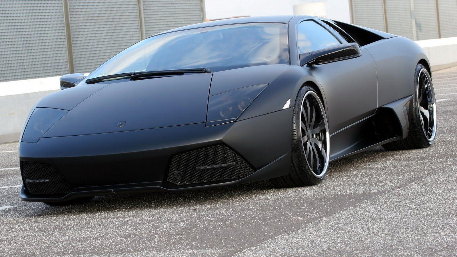 Lamborghini Murcielago Matte Black Hot Rides Ferrari Car