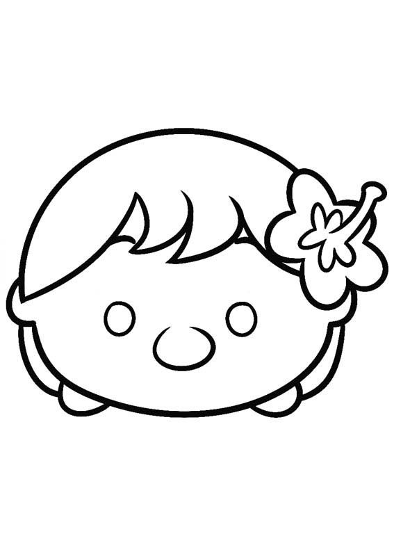 disney tsum tsum para colorear lilo | tsum | Pinterest | Dibujos ...