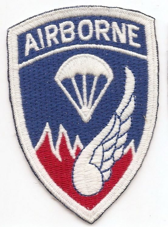 US ARMY 187TH AIRBORNE REGT. PATCH