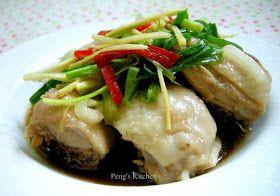 Peng's Kitchen: Steamed Chicken in Fragrant Oil