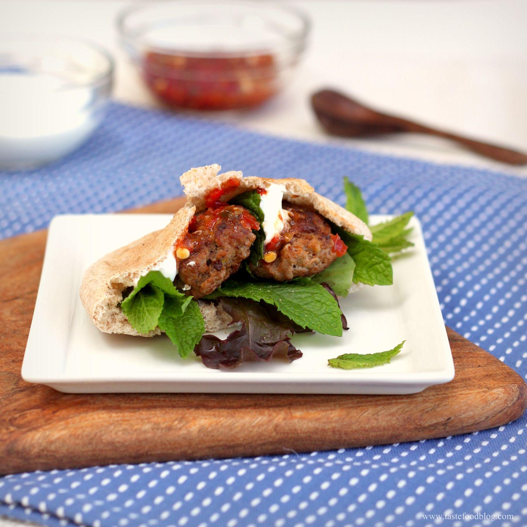 Merguez in pita - Sausage recipes, Recipes, Weeknight meals