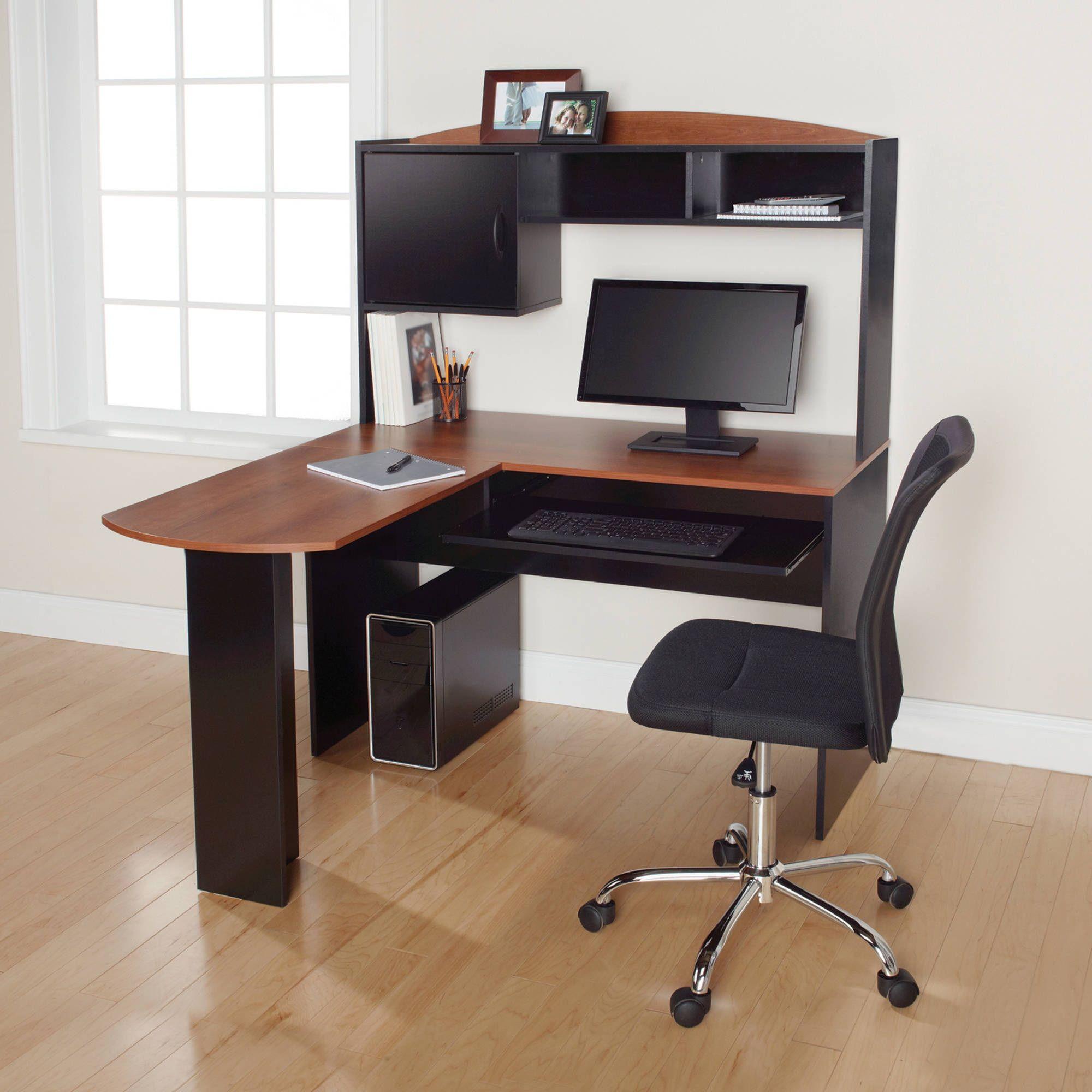 Interesting Corner Desk Walmart Home Office Furniture Sets