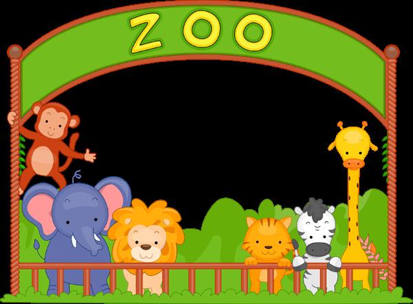 24 Gambar Kartun Zoo Clip Art Zoo Animals Clipart Panda
