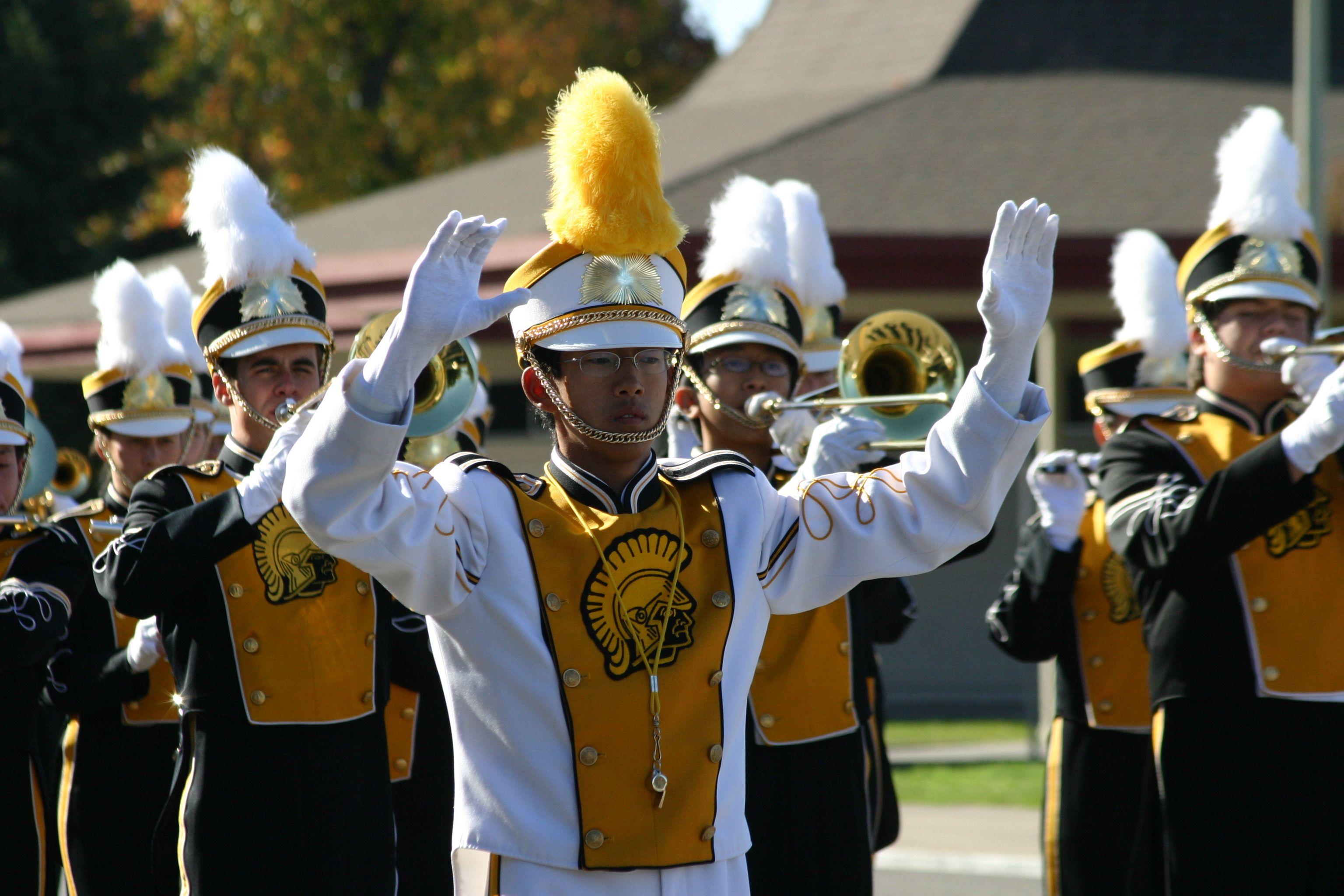 High School Drum Major Uniforms | Mountain View High School