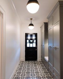 Mudroom Cement Tile Ideas By Tiles Tiling